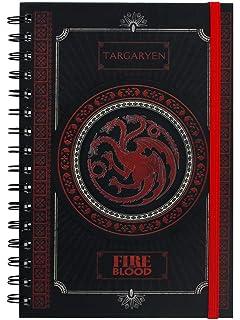 Game Of Thrones SR71898 Targaryen - Cuaderno A5, diseño de ...