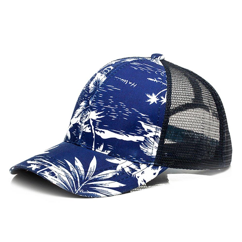 Somubay Flower Net Sport Sun Block Cotton Baseball Cap
