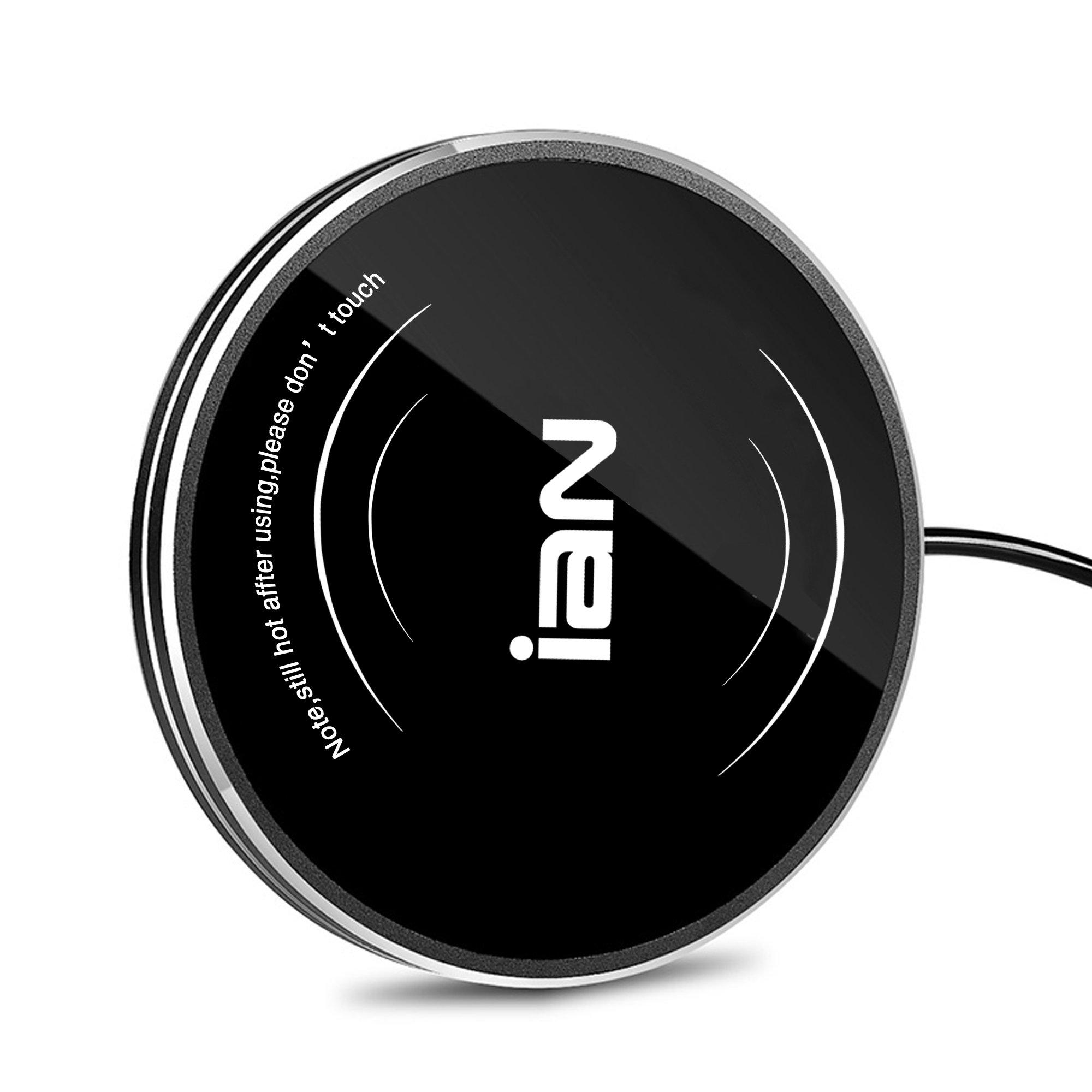 IAN Desktop Coffee Mug /Cup Warmer, Beverage Warmer for Office /Home Use (Black)