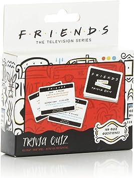Todo para el streamer: Paladone Friends TV Show Trivia Quiz Juego con 100 Preguntas