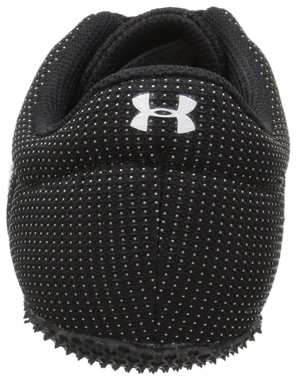 Under Armour Men's Kick Sprint Spike Running Shoe, White (100)/Black, 8 by Under Armour (Image #2)