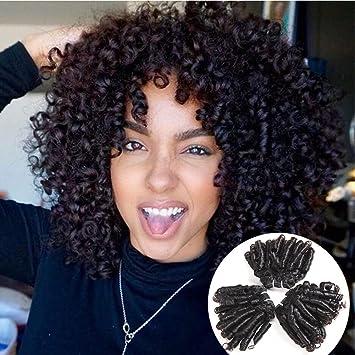 Amazon Com Brazilian Virgin Bouncy Curl Human Hair Funmi