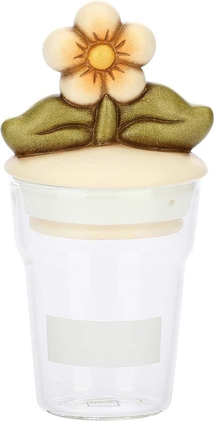 Thun Barattolo Da Cucina Per Farina Zucchero Sale Caffe Biscotti O Spezie Con Coperchio Decorato Con