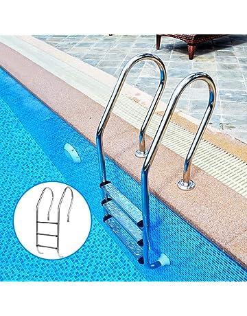 Amazon.es: Escaleras para piscinas: Jardín