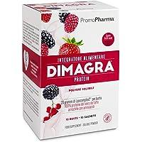 Dimagra Protein Red Fruit Sachets Integratore Alimentare - 200 gr