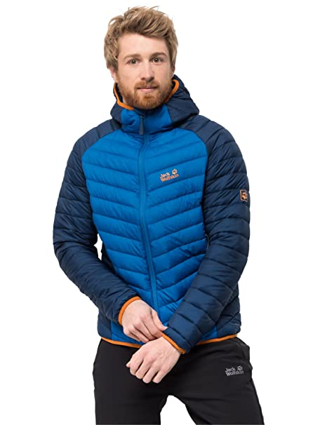 Jack Wolfskin Mens Zenon Storm Windproof Down Puffer Jacket