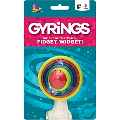Brainwright Gyrings - The Out of This World Fidget Widget!: Toys & Games