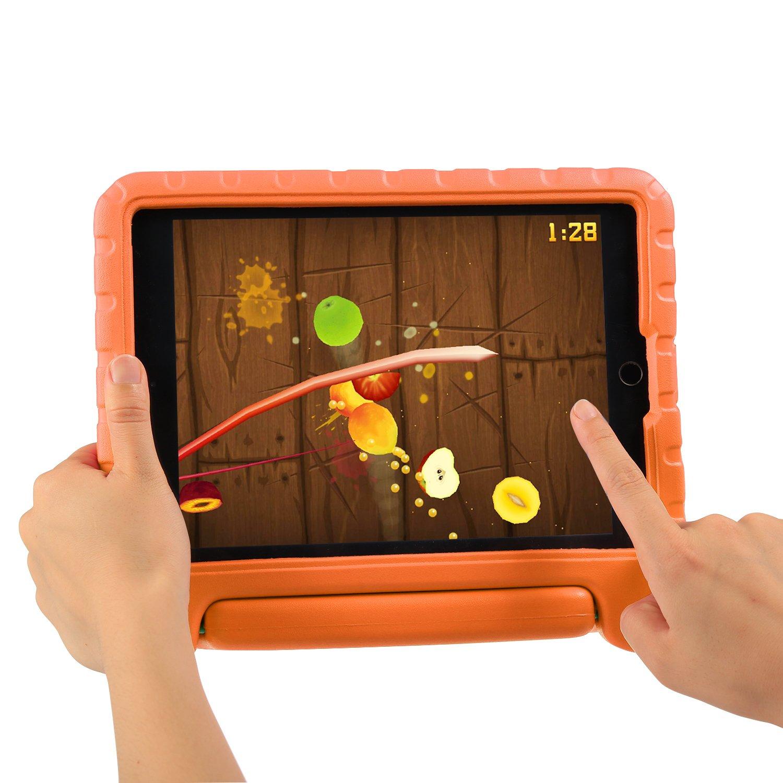 Cover Nuovo iPad 2018//2017 9.7 pollici Rosso NEWSTYLE Custodia Protettiva Antiurto con Supporto Maniglia per Bambini per Apple New iPad 2017//2018 9.7 Inch//iPad Air//iPad Air 2 Tablet