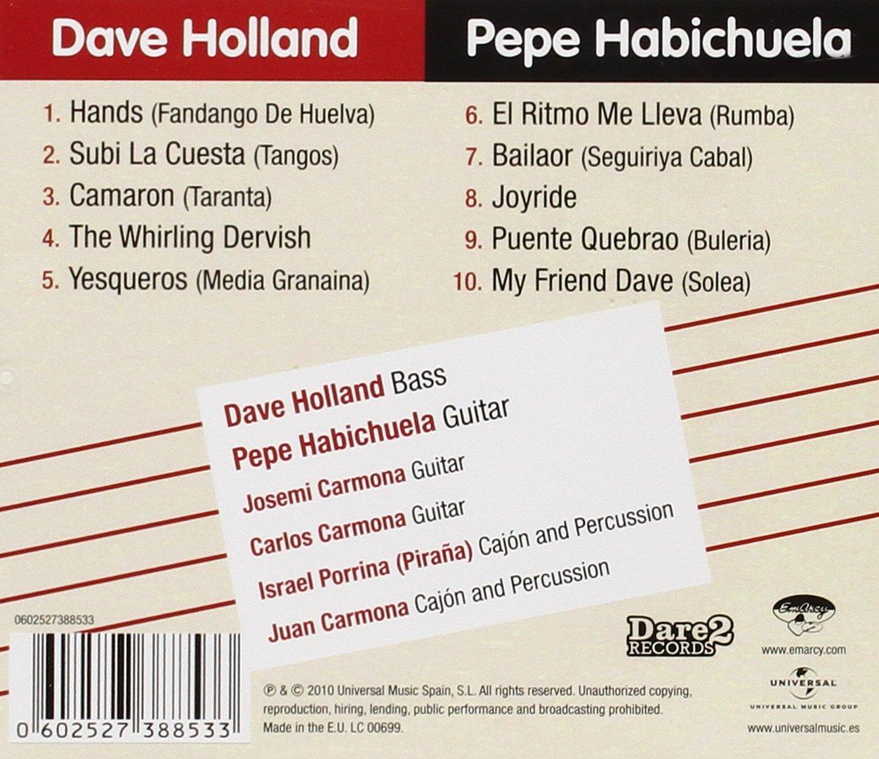 Hands: Dave Holland: Amazon.es: Música