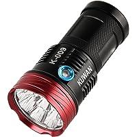Kuwan Cree XM-L T6 5000-Lumen LED Flashlight (JH0451)