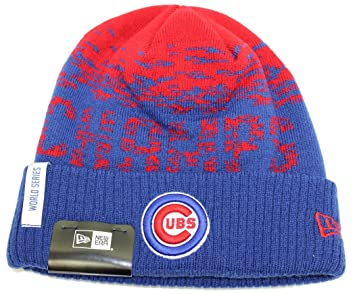 Chicago Cubs New Era MLB 2016 World Series Champions Sport Knit Hat ... 62c25a500e6