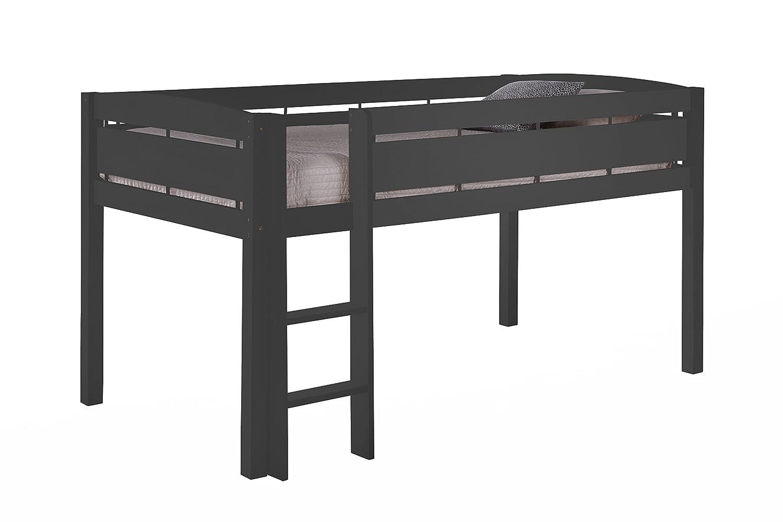 Canwood 2131-B Junir Whistler Junior Loft Bed, Toddler, Black Storkcraft