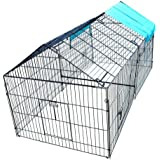 Chicken Cook Chicken Cage Pens Crate Rabbit Cage Enclosure Pet Playpen Exercise Pen