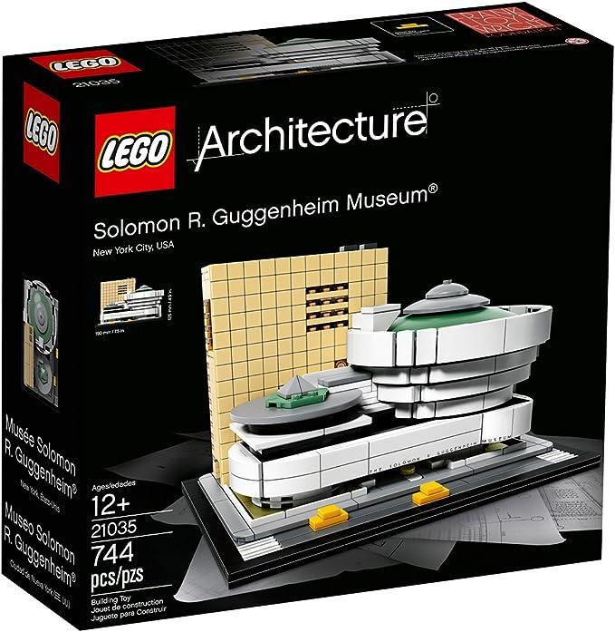 Guggenheim Museum Set legoings Architecture 21035 Building Blocks New Solomon R