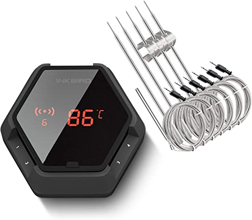 "INKBIRD BBQ Thermometer Sonde Sensor Halterung /""A/"" Clip 2 4 6 Stück"