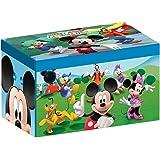 Disney - Scatola porta giocattoli pieghevole Mickey Mouse