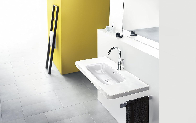 cromo Hansgrohe 71100000 Logis grifo de lavabo 100 con vaciador autom/ático