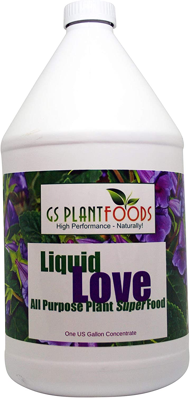 Liquid Love All Purpose Natural Plant Food! Now in 1 Gallon
