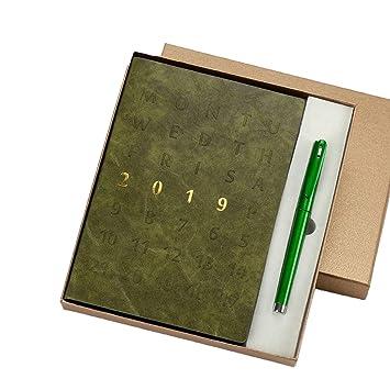 NTCY Cuaderno Agenda 2019 Set De Regalo Caja De Trabajo ...