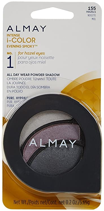 Almay Intense i-Color Evening Smoky - Hazels (155) - 0.2 oz by Almay: Amazon.es: Belleza