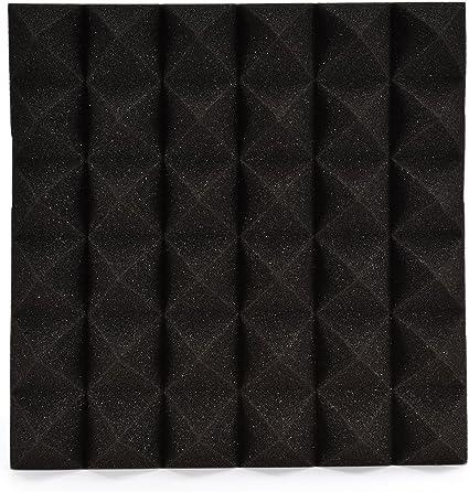 Image ofLianLe Panel de Espuma Acústica para Insonorización con Oirámides 30 * 30 * 5 cm,A