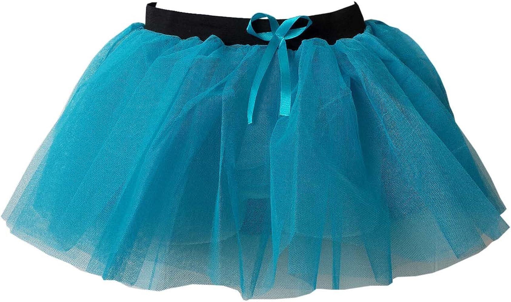 Falda tutú neón de 3 capas para niña, vestido de boda / fiesta ...