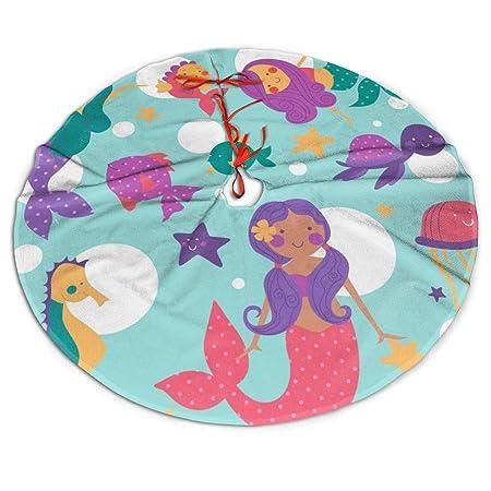 Pengyong - Falda para árbol de Navidad, diseño de Sirenas de ...