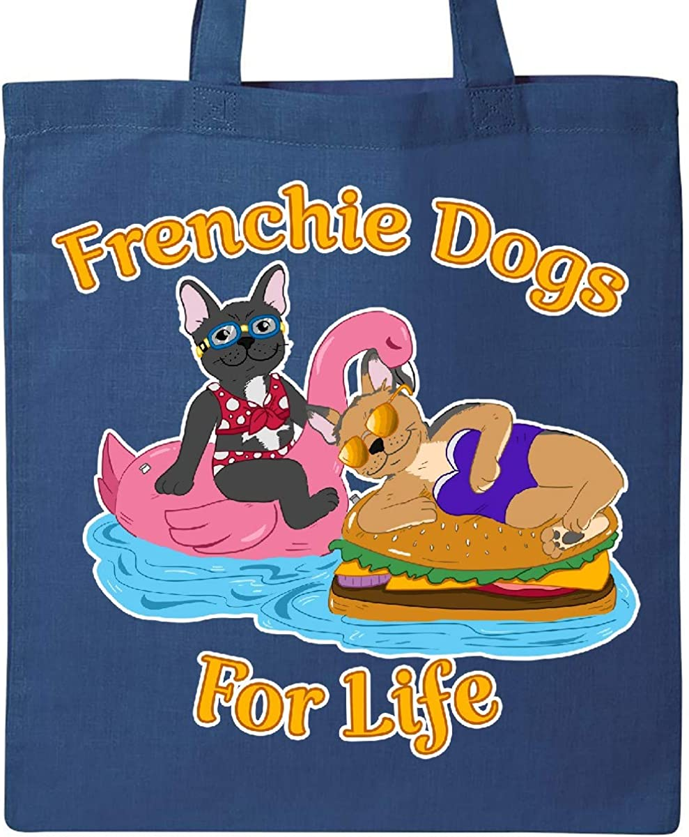 inktastic Cute French Bulldogs on Pool Floaties Beach Side Toddler T-Shirt