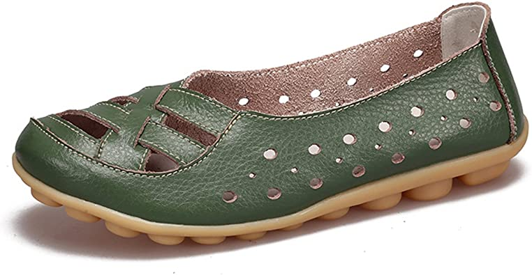 Ballet Flats New Women Leather Shoes