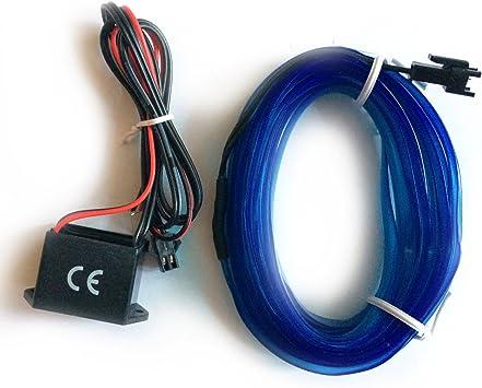 Inion/® EL illuminazione d/'ambiente con invertitore//adattatore da 12/Volt con EL Stripe innovativo.Striscia di luce strisce per un/'illuminazione interiore moderna.