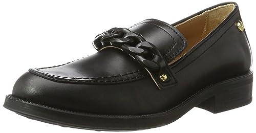 W.Shoe, Mocasines para Mujer, Multicolor (Black/Blue), 40 EU Love Moschino