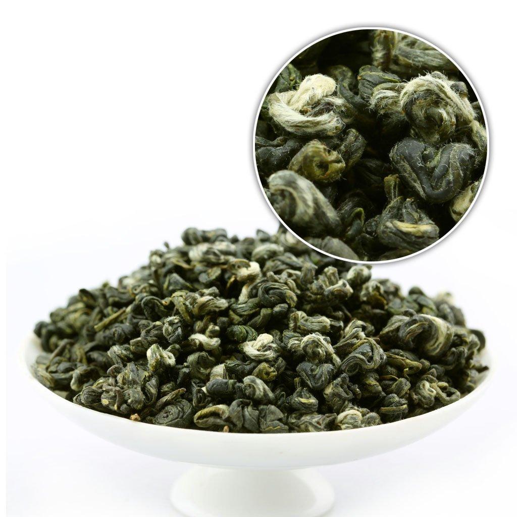 GOARTEA 1000g (35.2 Oz) Supreme Organic SuZhou Bi Luo Chun BiLuoChun Spring Leaf Snail Chinese Green Tea (Snail) shape