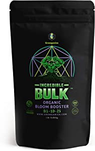 Bloom Booster, Incredible Bulk 0.1-10-25 Certified Vegan OMRI Listed Organic Plant Food (1lb)