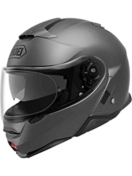 Shoei Casco Convertible Moto Neotec 2 Plain Matt Gris (Xl, Gris)
