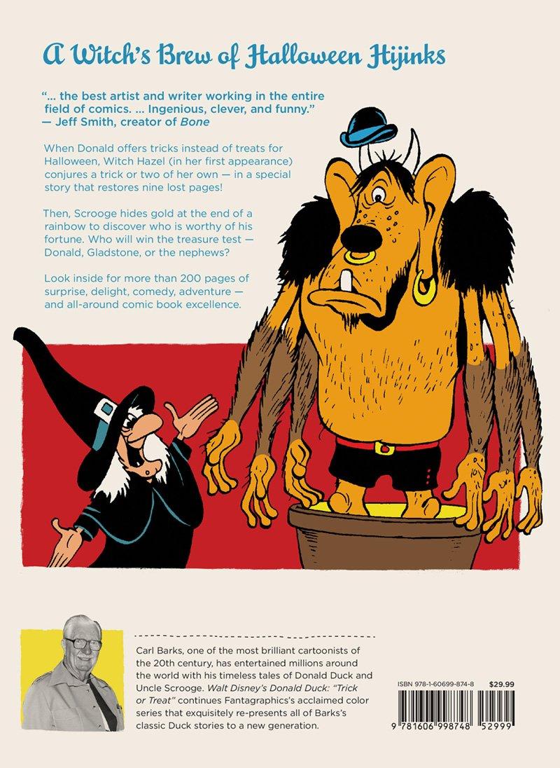 Walt Disneys Donald Duck Trick Or Treat Carl Barks Library