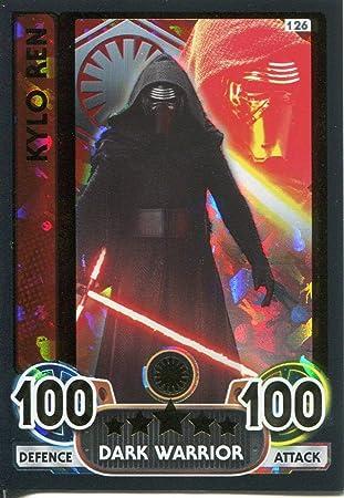 Kylo Ren-premier ordre 30 Force Attax Movie 4 Extra