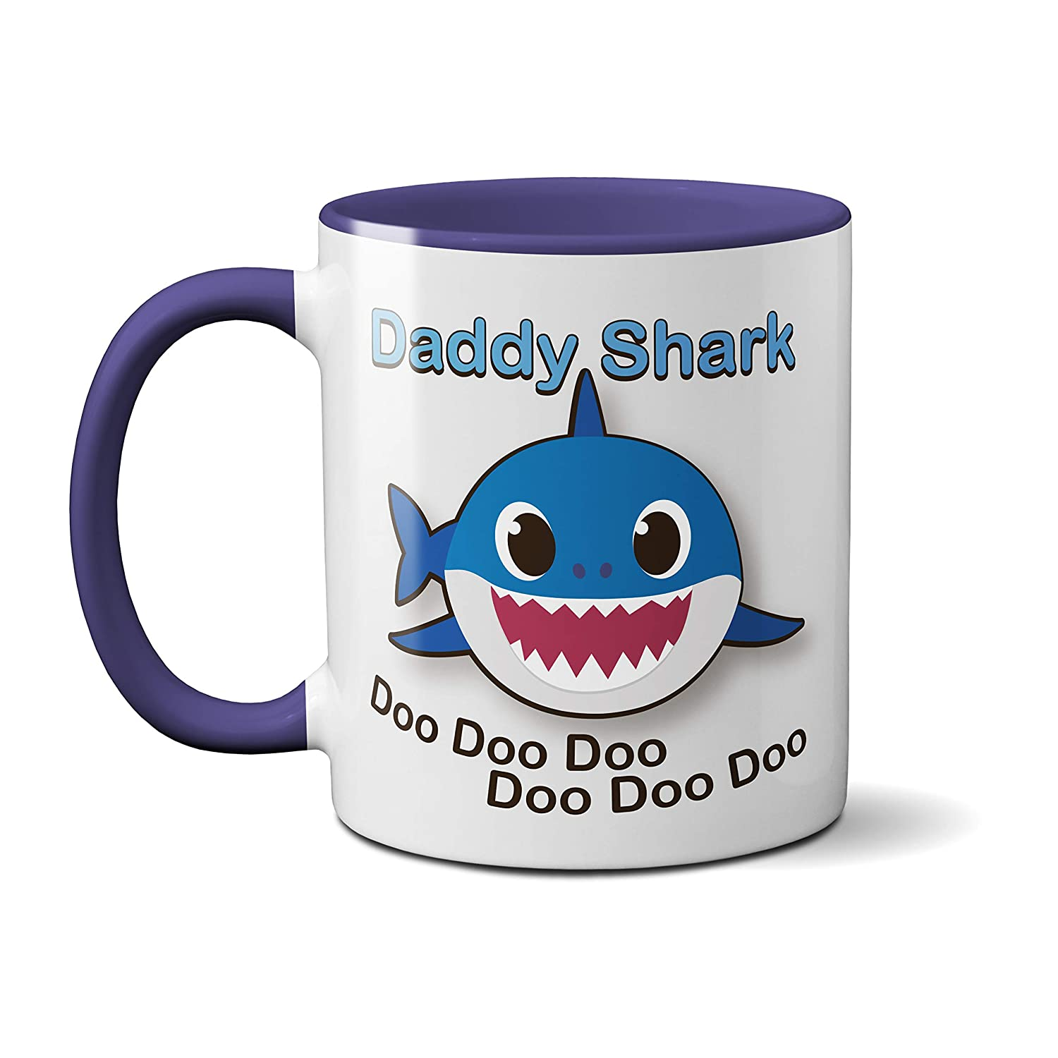 Baby Shark Family Mugs - Cute Adorable - Funny Novelty - Kids Adults Boys Girls (Baby Shark) SmartyPants