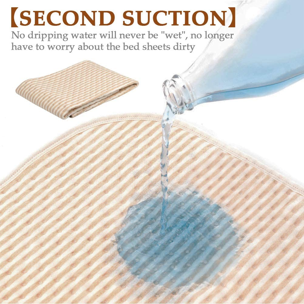 Toilet Training Sleep Mat Kids Urine Pad for Infant Toddler Baby Changing Pad Liners Baby Cot Mattress Protector Pad Sheet Washable Baby Diaper Changing Mat Pad Adult Incontinence Pad for Disabled
