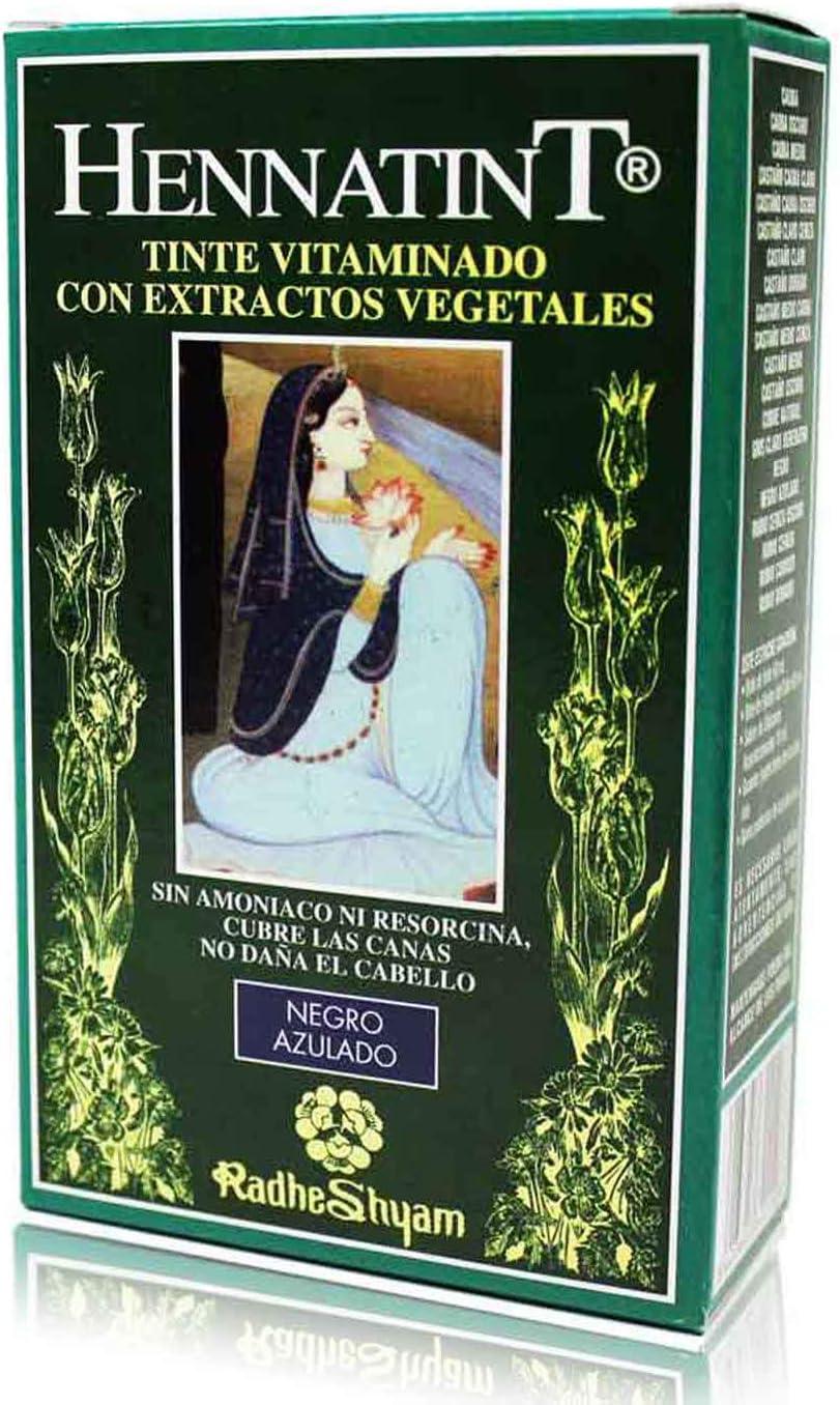 HENNATINT NEGRO AZULADO RADHE: Amazon.es: Belleza