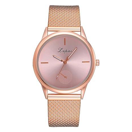 8a6646f95668 Yesmile ❤ Reloj casual de lujo para mujer Para ella Lvpai Casual Mujer  Correa de