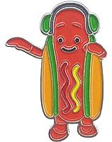 Dancing Hot Dog Snapchat Filter Meme Enamel Pin Hat Pin Lapel Pin Button Pin Hat Pin