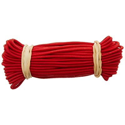 10T Elastic Cord 10x22 Caoutchouc de barre Rouge 10 m