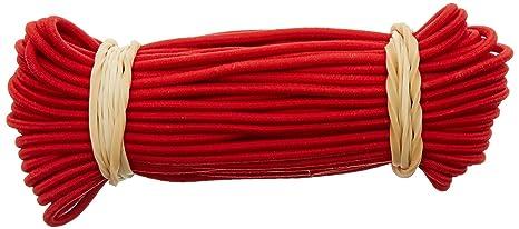 10T Stangengummi Elastic Ø 2,2 mm x 10 Meter Gummiband Elastikband zur Verbindung von Zeltstangen