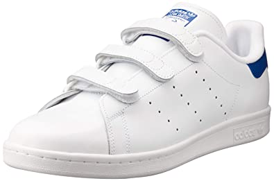 adidas Stan Smith CF Chaussures de Basketball Homme Bianco