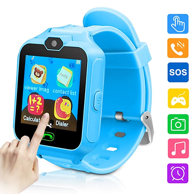 Kids Smart Watch-Phone Watches for Children Girls Boys 1 44 inch Touch  Screen Camera Anti-Lost SOS Digital Wrist Watches