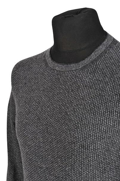 Gucci Suéter Hombre Gris normal lana casual M: Amazon.es: Ropa y accesorios