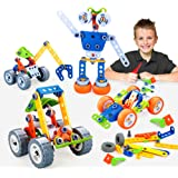 INSOON 10 in 1 STEM Toys for Kids Building Toys Kit Creative Construction Engineering Learning Toys for 5 6 7 8 9 Year…