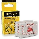 2x Batteria EN-EL5 per Nikon Coolpix 3700 | 4200 | 5200 | 5900 | 6000 | 7900 | P3 | P4 | P80 | P90 | P100 | P500 | P510 | P520 | P5000 | P5100 | S10