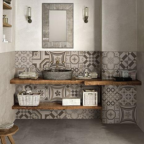 wall art (Confezione 72 Pezzi) Adesivi per Piastrelle ...