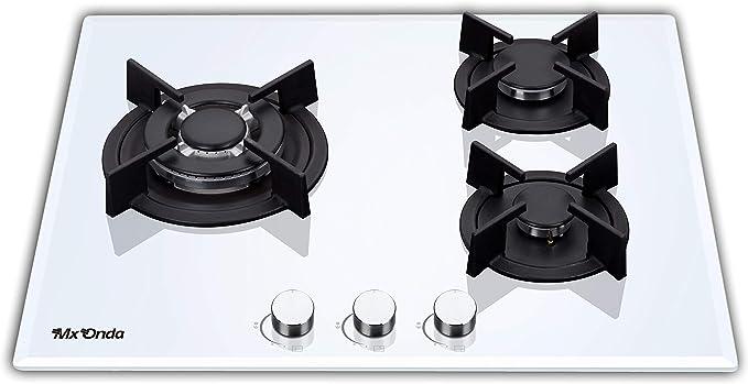 Mx Onda MX-PG2200B Placa gas butano y gas natural, cocina de ...